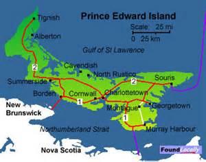 pei map canada maps of prince edward island