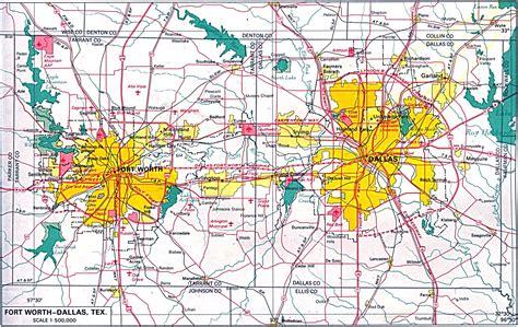 dallas usa map dallas map southwest information office us bureau of