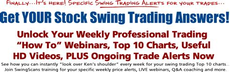 how to become a swing trader swingscans com weekly strategy webinars for active swing