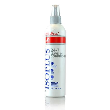 7 Fab Leave In Conditioners by Isoplus 24 7 Leave In Conditioner Essence Supply Inc