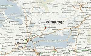 peterborough canada map peterborough canada location guide
