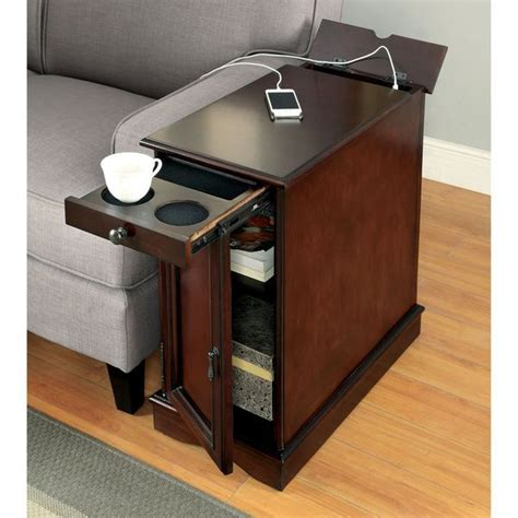 sofa table charging station best 25 narrow side table ideas on narrow