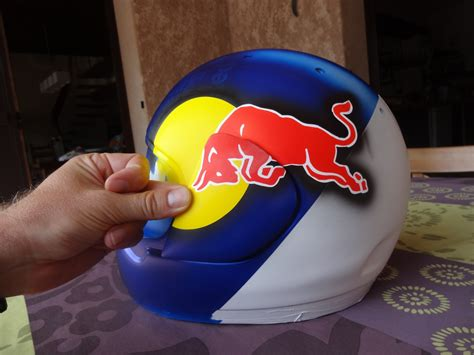 Stickers Red Bull Casque Moto by Casque Red Bull Helmet Arai Racefactory Graphics