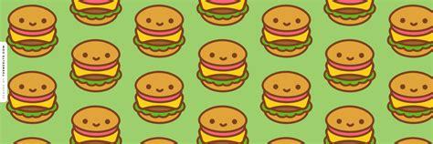 Happy Hamburgers Twitter Header   Kawaii Wallpapers