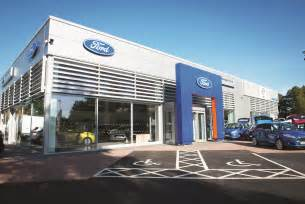 Dealership Uk New Ford Showroom Opens After 163 5 Million Investment Car