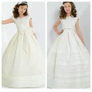 Vestidos de primera comuni 243 n de estilo ingl 233 s vestidos de primera