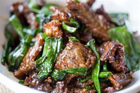 Dark Kitchen Ideas by Easy Mongolian Beef Dinner Then Dessert