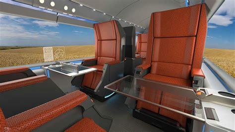 argo design envisions  hyperloop travel experience