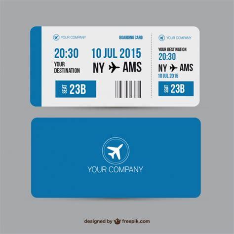 boarding pass vector premium download