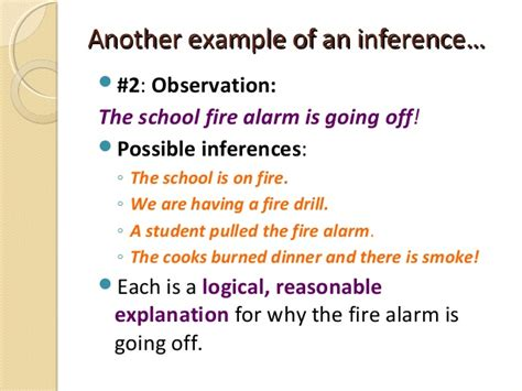 exle of inference observations vs inferencespart one