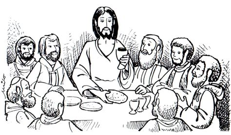 coloring pages jesus last supper jesus tree symbols bible readings and colouring pages