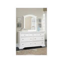 dresser and mirror walnut ne