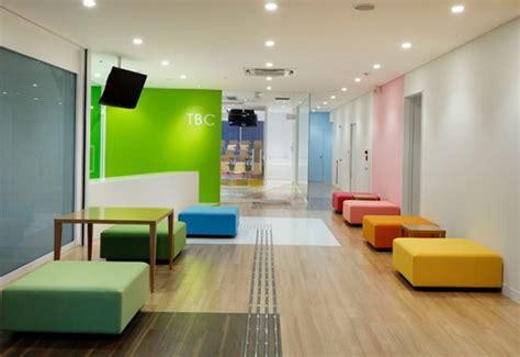 colorful school design in japan interior design