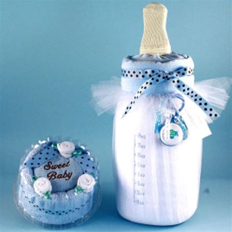 milk cake baby boy gift set - Gifts For Boy Baby Shower