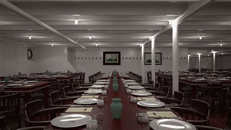 Titanic Third Class Dining Room by Titanic Ii By Blue Line Set To Embark In 2016