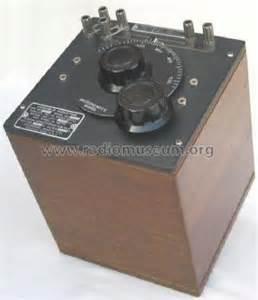 variable inductor radio variable inductor 107k equipment general radio company camb