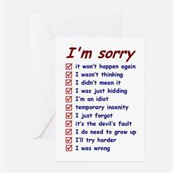 sorry card template sorry greeting cards card ideas sayings designs
