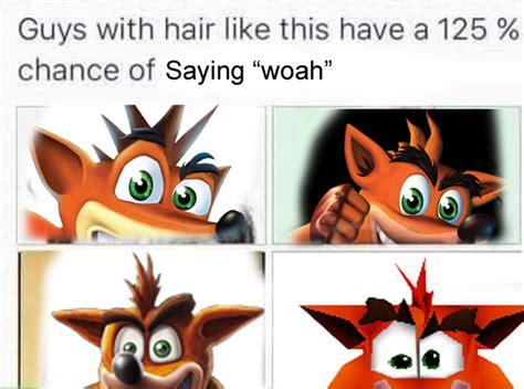 Woah Meme - woah crashbandicoot