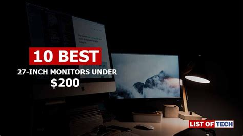 best 27 inch gaming monitor best 27 inch monitor 200 10 top budget gaming