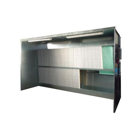 cabina di verniciatura a secco cabine di verniciatura serie e doppia filtrazione h b