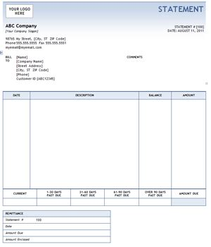 Invoice Processor Cover Letter by Invoice Statement Template Free Printable Invoice