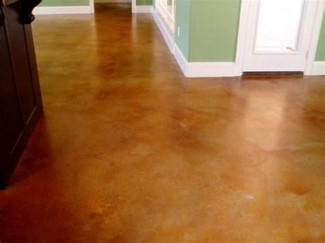 Acid Wash Concrete Floors by Well Done Acid Wash Concrete For The Home
