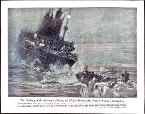 How The Sinking Of The Titanic Changed The World by File Reuterdahl Sinking Of The Titanic Jpg
