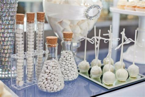 party themes white ever thrown a white party love this all white dessert