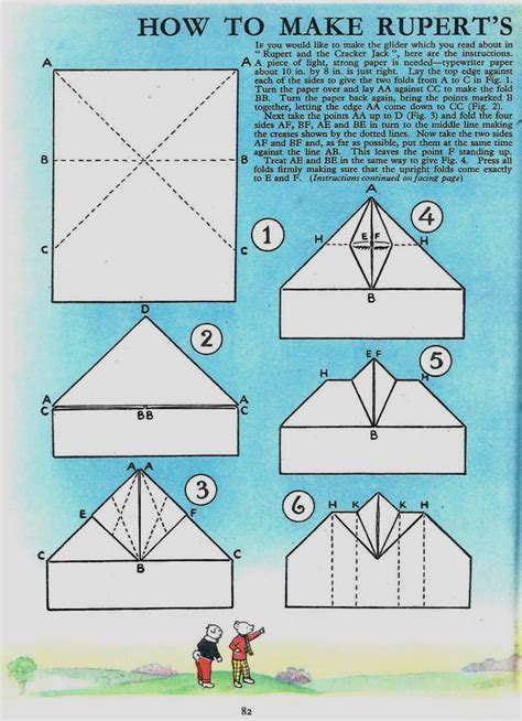 Paper How To Make - rupert origami
