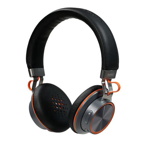 Headset Remax Bluetooth Stereo Headset Remax Rb 195hb Black