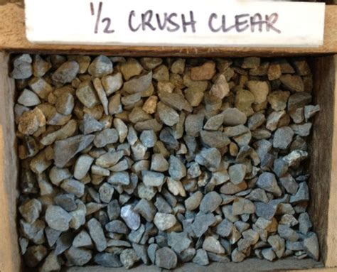Half Ton Of Gravel Crushed Clear Gravel