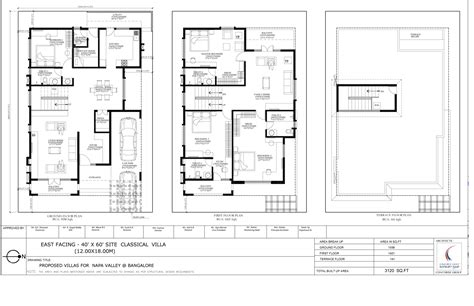 home design 40 60 40 x 60 house plans bangalore