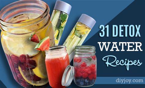 Diy Detox Drink Recipes by 31 Diy Detox Water Recipes Drinks To Start 2016 Right
