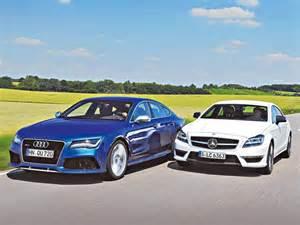 Audi Rs7 Technische Daten by Vergleich Audi Rs 7 Vs Mercedes Cls 63 Amg S Bilder Und