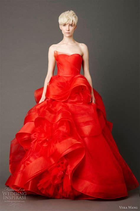 Rotes Hochzeitskleid by Vera Wang Bridal 2013 Wedding Dresses Wedding