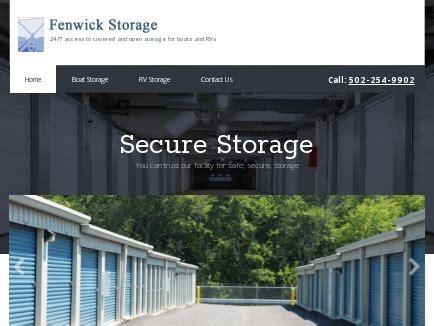 louisville boat storage fenwick storage storage facility louisville ky