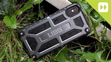 uag monarch series iphone  tough case review youtube