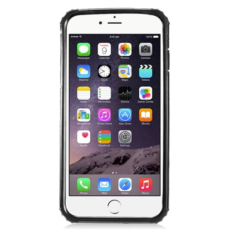 for apple iphone 8 plus hybrid transformer armor dual layer with kickstand ebay