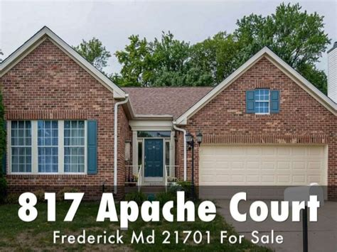 Frederick Md Court Search 817 Apache Court Frederick Md 21701