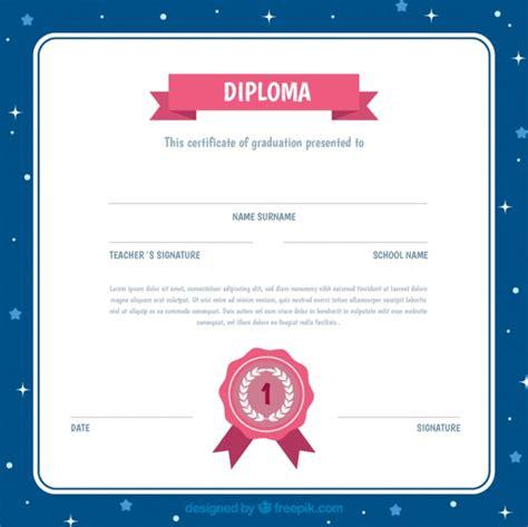 diplomas escolares infantiles para ni 241 os para imprimir y descargar marcos para diploma diploma para ni 241 os con