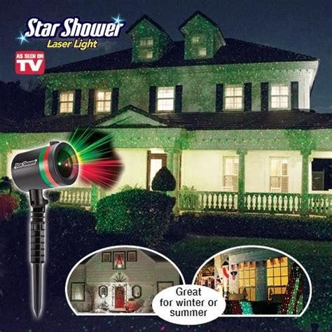 star shower laser light star shower laser light get organized as seen on tv