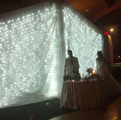 diy wedding backdrop with lights 17 best images about tent event on pinterest dance