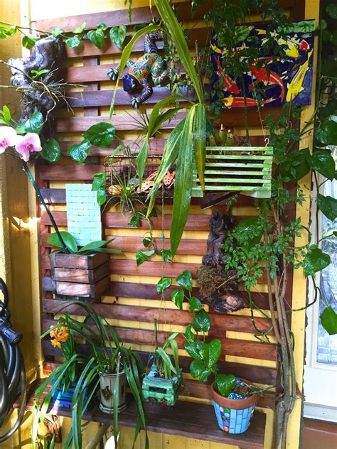 Shabby Chic Kitchens Ideas hometalk building a vertical orchid garden wall