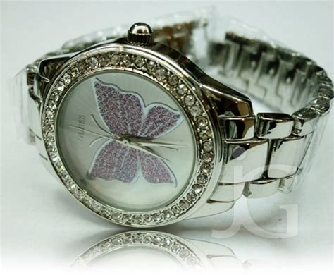Jam Tangan Guess 908 Purple guess butterfly one stainless rp 180 000
