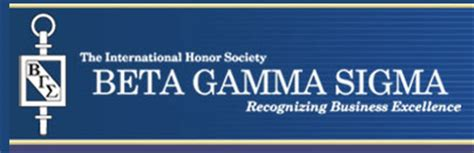 Beta Gamma Sigma And Willamette Mba For Professionals by George Chapter Of Beta Gamma Sigma
