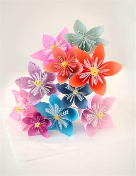 Fleur Origami - 1000 ideas about fleur en origami on fleurs