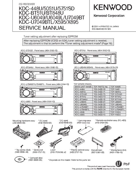 kenwood kdc mp235 wiring harness diagram get free image