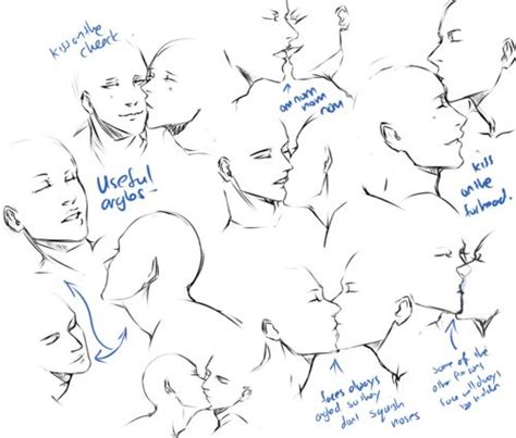 french kiss tutorial magic how to draw people kissing how to art pinterest