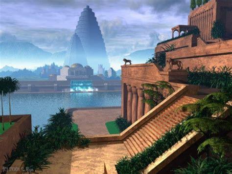 Hanging Garden Of Babylon by Hanging Gardens Of Babylon God S Gate Hanging Gardens