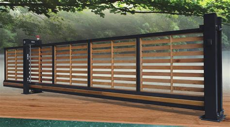 Sale Steel Rack For Automatic Gate Ct Steel wooden automatic sliding gates residential trackless cantilever gate